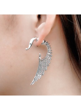 Angel Wings Shaped Alloy Earrings
