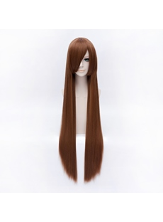 IkkiTousen Harusu Juki Brown Long 40 Inches Wig