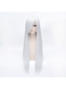 Inuyasha Sesshoumaru Silver Straight 32 Inches Wig