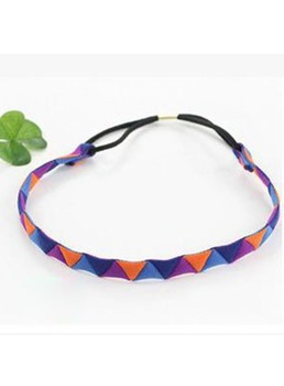 Colored Triangle Shaped Decorated Headband
