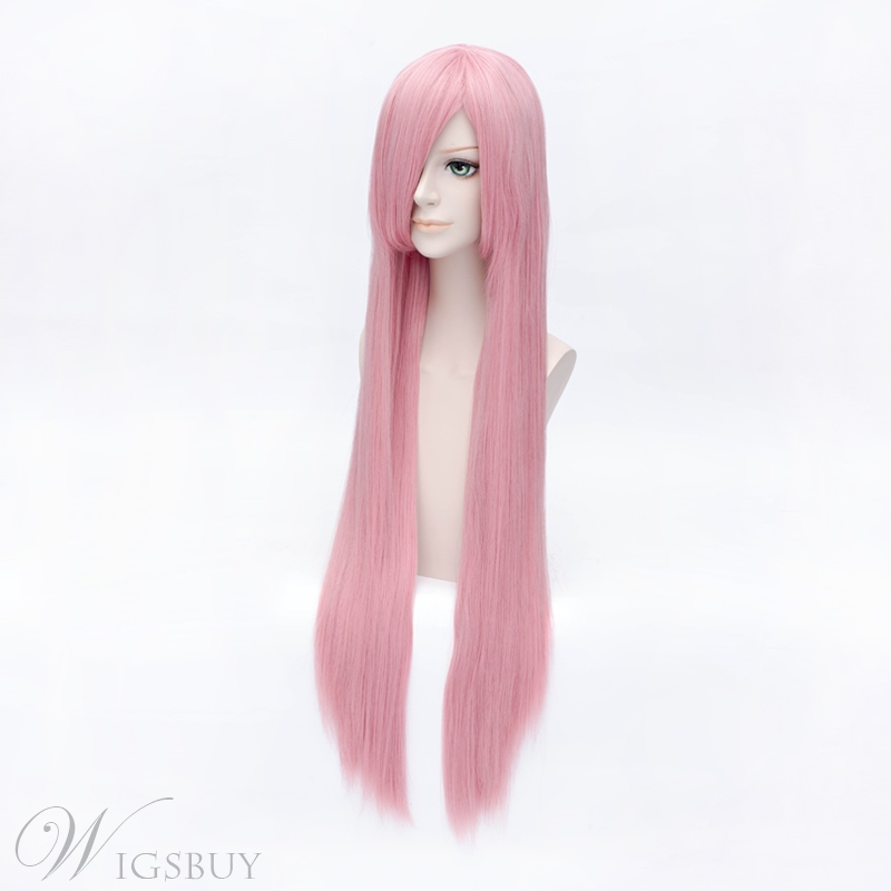Luka Style Cosplay Wig Long Pink 40 Inches