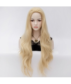Elegant Super Long Wavy Synthetic Hair Party Wig 32 Inches