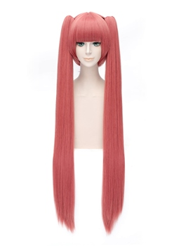 Ginsen Cosplay Straight Watermelon Red Wig 40 Inches