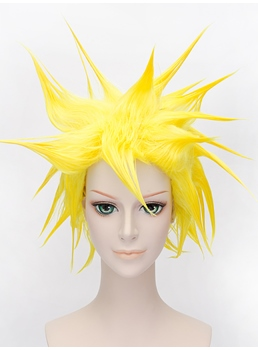 Dragon Ball Vegeta Cosplay Yellow Wig 12 Inches