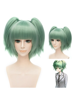 Kayano Kaede Cosplay Short Green Wig 12 Inches