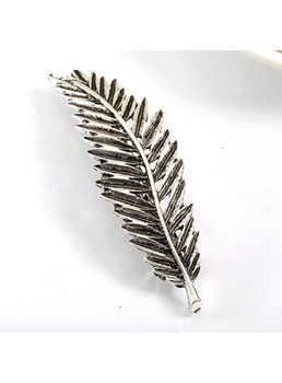 Fashion Leaf Shaped Alloy Hair Clip