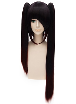 DATE·A·LIVE Tokisaki Kurumi Cosplay Long Straight Wig 32 Inches