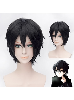 Sword Art Online Kirigaya Kazuto Short Black 12 Inches Wig