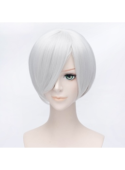 Sakata Gintoki of GINTAMA Silver Short Wig 12 Inches