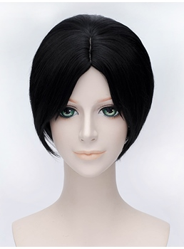 Hoozuki no Reitetsu Cosplay Short Black 12 Inches Wig