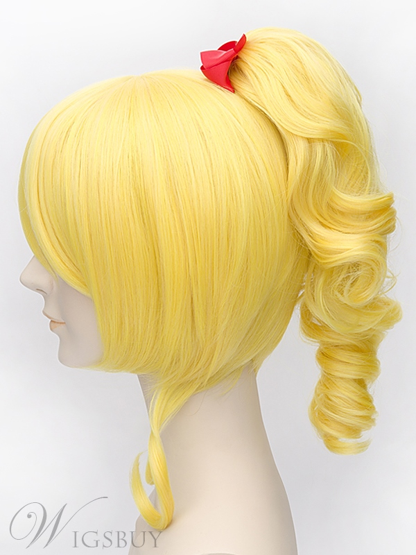 Lovelive Eli Ayase Cosplay Blond Wig 12 Inches
