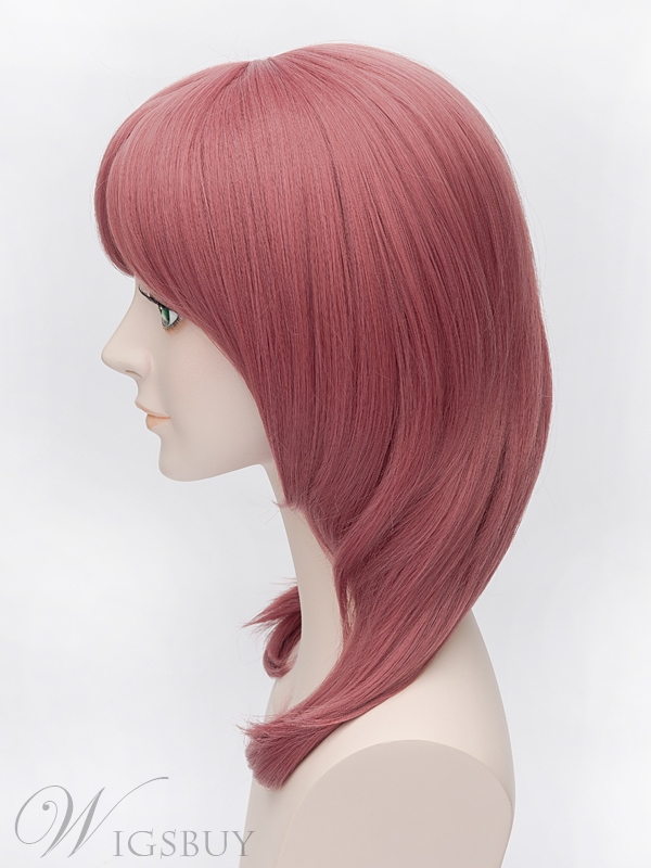 Lovelive Nishikino Maki Cosplay Watermelon Red Long Wig 18 Inches