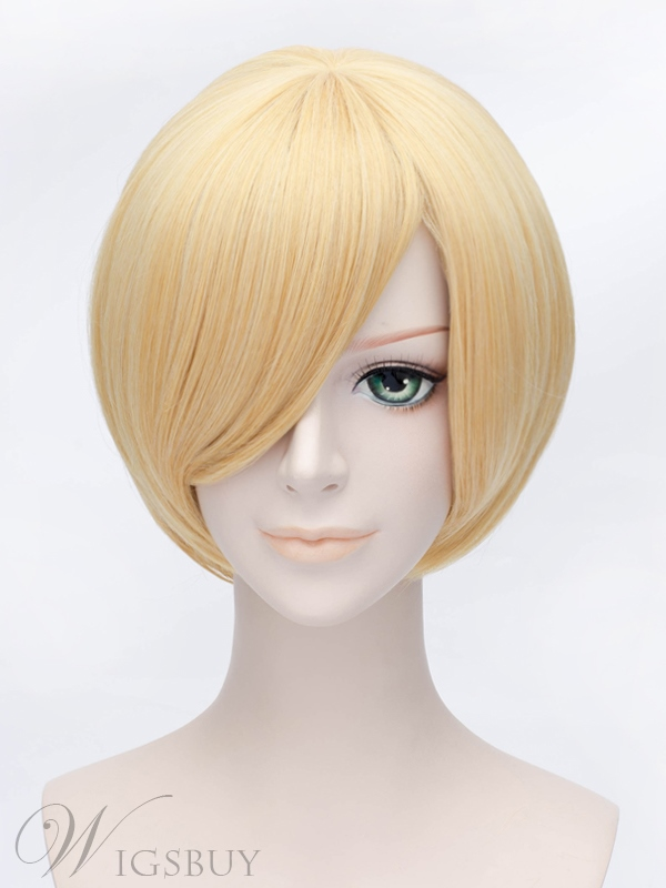 Popular Star Driver Short Blonde WIg 12 Inches