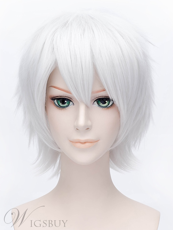 Cosplay Touken Ranbu Short Sliver Wig 12 Inches