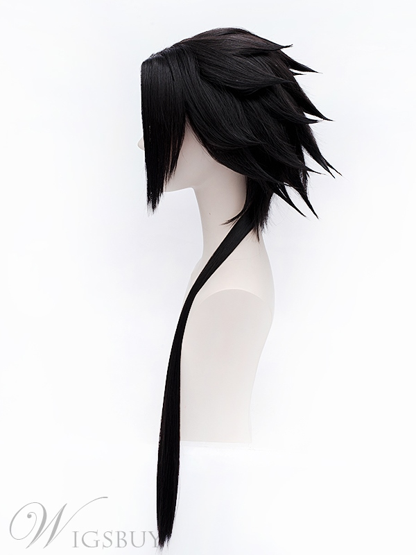 Barry Su Tu Cosplay Black Wig 32 Inches