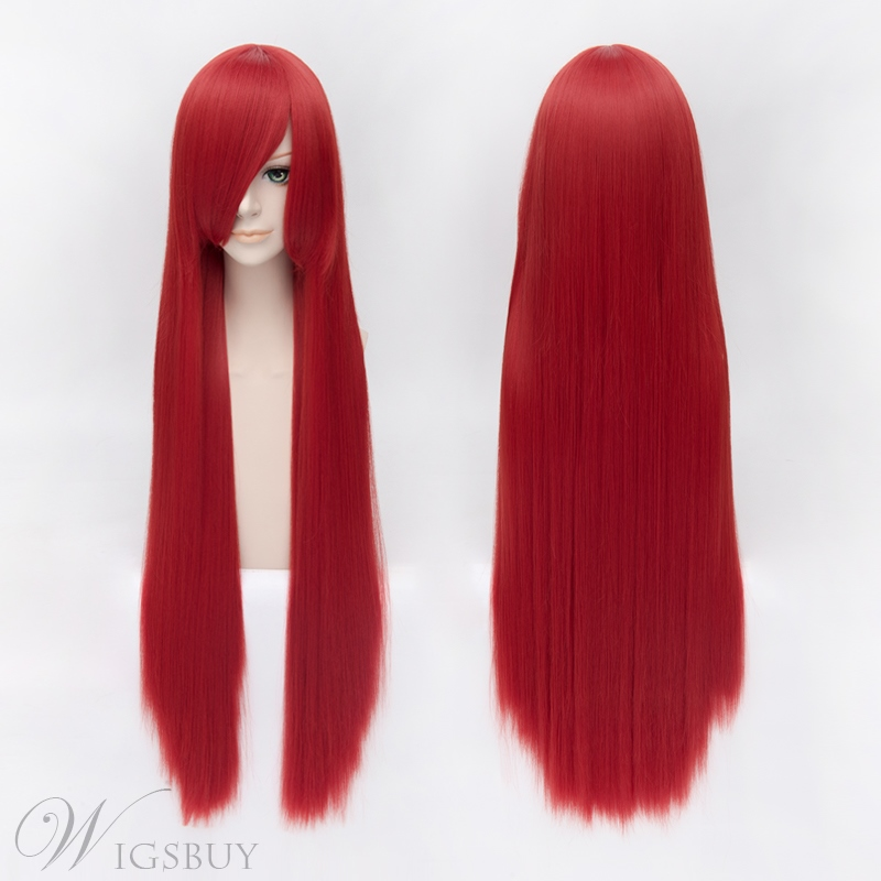 Popular Shakugan no Shana Long Red 40 Inches Wig