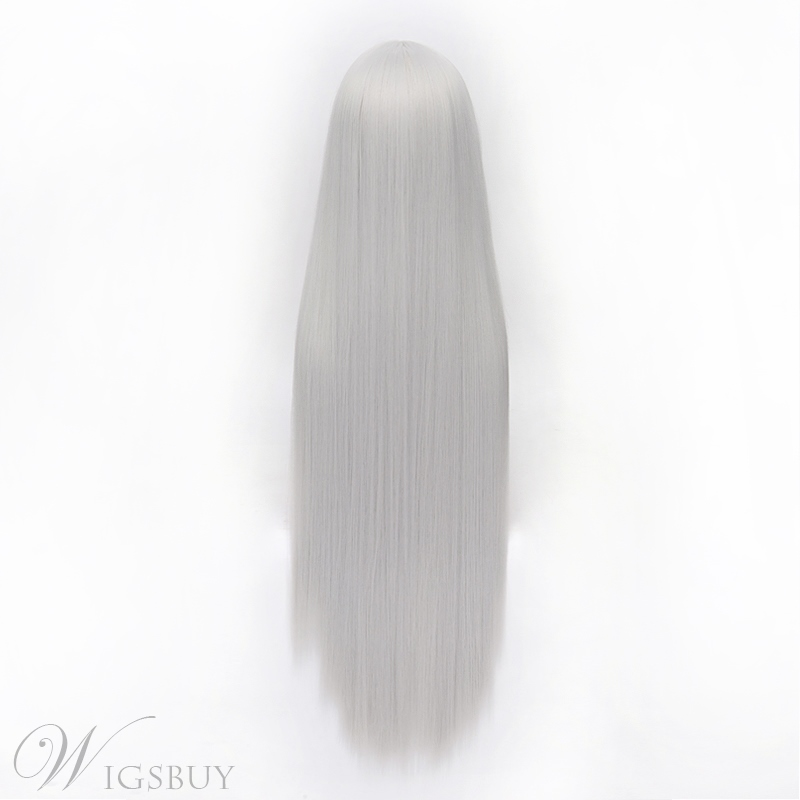 Vampire Knight Style Long Silver 40 Inches Wig