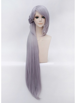 Ima no Tsurugi Cosplay Gray and Purple Long Wig 42 Inches