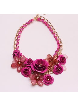 Camellia Decorative Necklace
