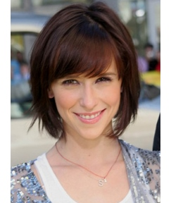 Lovely Bob Short Straight Human Hair Full Lace 10 Inches Wigs