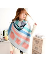 Imitation Cashmere Double-Sided Cloak Style Scarf