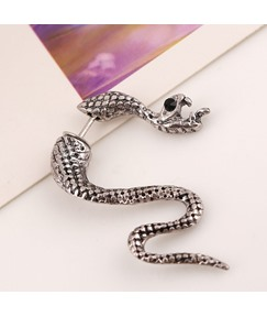 Punk Snake Shaped Clip Earring