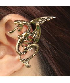 Punk Dragon Shaped Alloy Ear Cuff