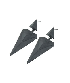 Rivet Punk Triangle Stud Earrings