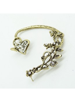 Floral Shaped Alloy Ear Cuff