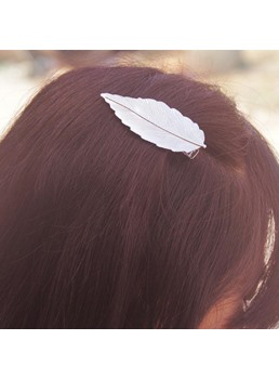 Fashion Leaf Shaped Hair Clip