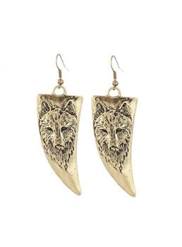 Ox Horn Shaped Earrings
