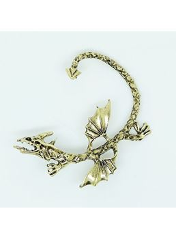 Punk Style Dragon Unisex Ear Cuff