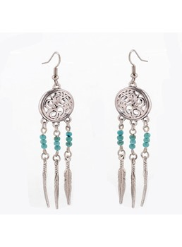Ethnic Design with Tassels Earrings