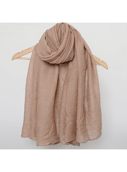 Pure Color Long Scarf