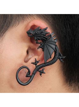 Punk Dragon Alloy Ear Cuff