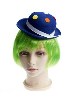 Sweet Colorful Cosplay Bob Style Short Straight Capless Wig