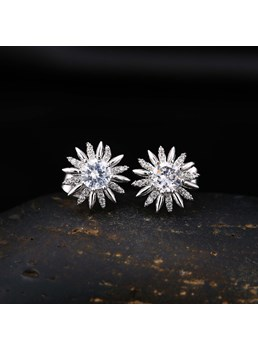 Sun girasoli Stud Earrings