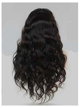 Hot Sale Long Curly Lace Front Human Hair Wig 24 Inches