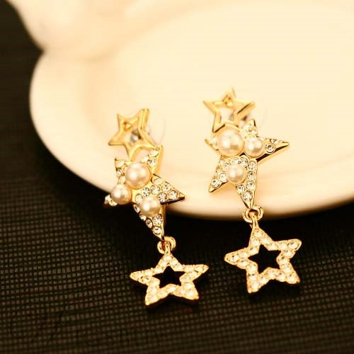 jewelry free double earrings product pearl bezel freshwater watches long dangling sterling silver