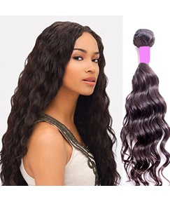 Natural Wave Human Hair Weave 8-30 Inches