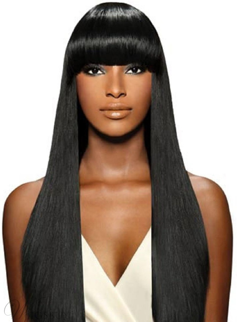 Top Quality Silk Straight Virgin Hair Human Hair Weave 1 PC