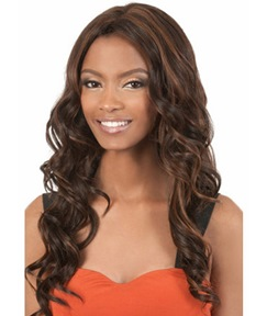 Attractive Sexy Long Wavy Caplesss Synthetic Hair Wig 26 Inches