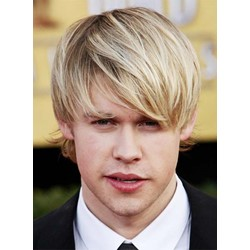 Handsome Mens Wig Synthetic Hair Capless