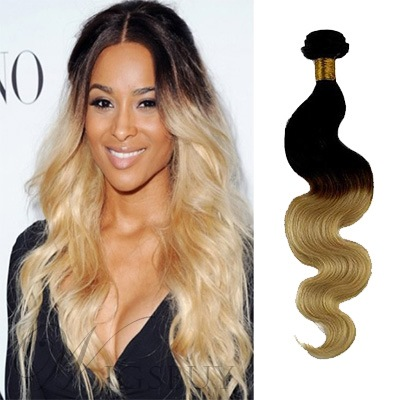 Perfect Wavy Human Hair Weave/Weft 1 PC