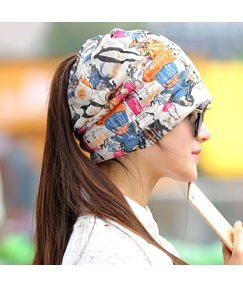 Casual Letters Printed Women's Hat