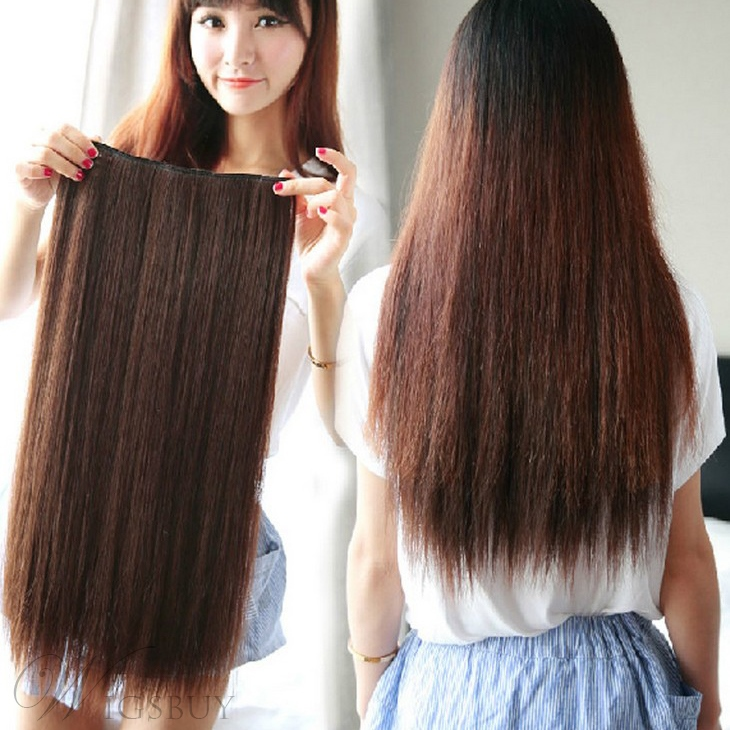 Pretty Straight Human Hair Weave/Weft 1 PC