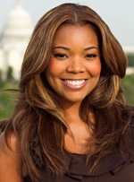 Gabrielle Union Long Wavy Lace Front Synthetic Hair Wig 18 Inches