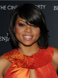 Hot Sale Taraji Medium Straight Capless Human Hair Wig 12 Inches