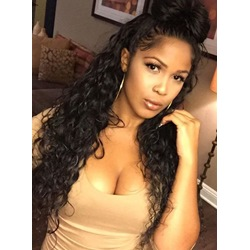 Human Hair African Curly 7 Pcs Clip In Hair Extensions M