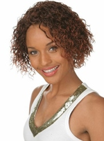 High Quality Short Curly Capless Synthetic Hair Wig 10 Inches